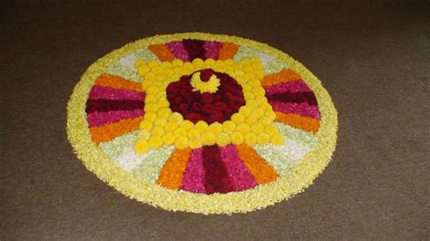 Taurus Interiors 12 Easy Flower Rangolis That You Should Try This Pongal