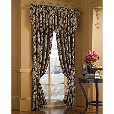 j queen new york curtains buy j queen new york majestic 84 quot window curtain panel