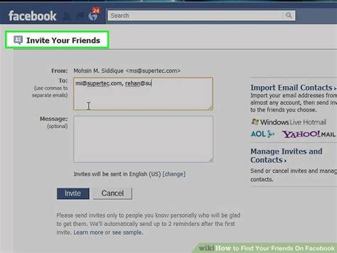 Find Via Email How To Send Invite Via Email Infoinvitation Co