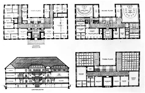 municipal hall floor plan file cambridge massachusetts city hall elevation and floor plans jpg wikimedia commons