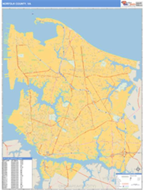 zip code map norfolk va norfolk county va zip code wall map basic style by marketmaps