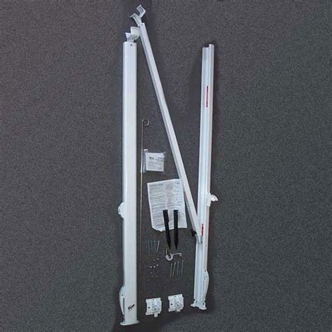 rv awning arms set carefree fiesta arms suit caravan rv white caravan