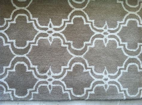 Pottery Barn Scroll Tile Area Rug 8x10 New Mocha Pottery Barn Rug 8x10