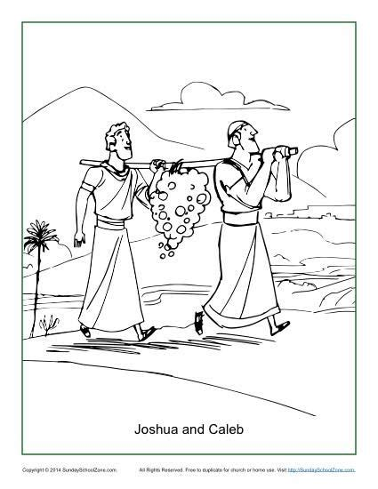 Coloring Page 12 Spies by 16 Best Images About The 12 Spies Sunday School On