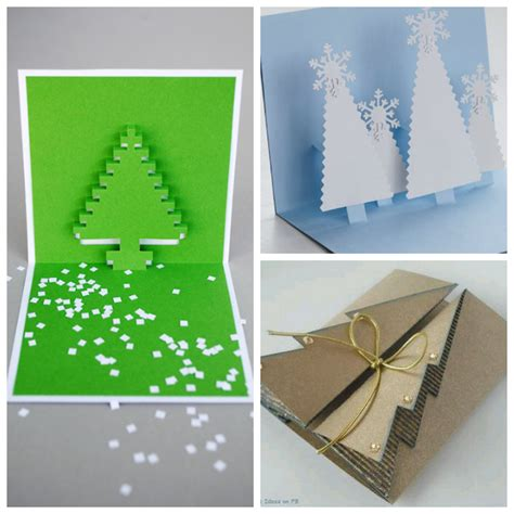 How To Fold Paper Into A Card - roundup 9 folded paper tree card