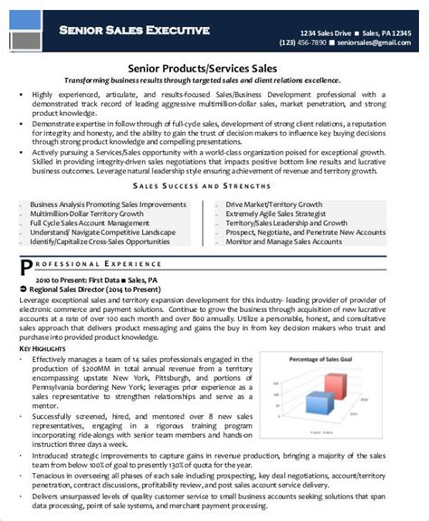 Resume Sles For Seo Executive senior resume sles 28 images senior sales executive