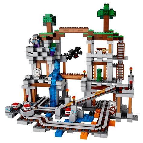 Lego 21118 Minecraft The Mine lego 174 minecraft creative adventures the mine 21118 target