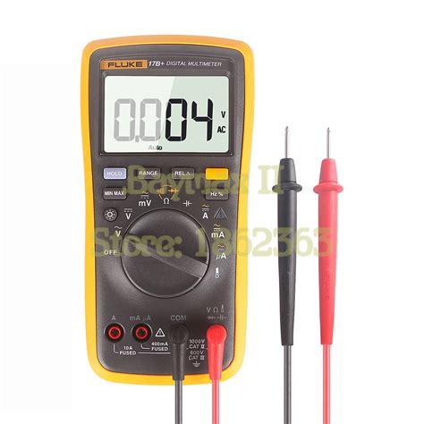 Multimeter Fluke 17b fluke 17b ac dc voltage current capacitance ohm auto