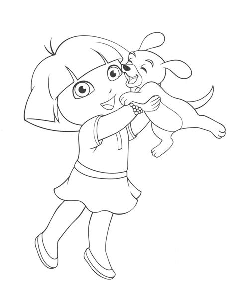 dora horse coloring pages 166 best images about dora coloring pages on pinterest