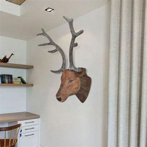 stag head home decor best 25 mounted deer heads ideas on pinterest faux
