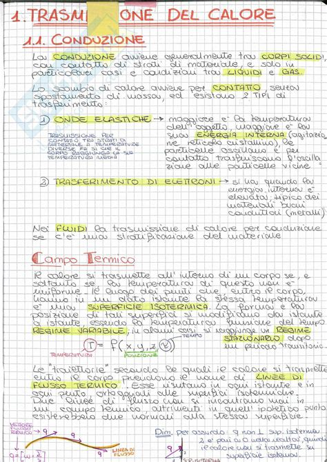 fisica tecnica dispense fsica mecnica equazioni di fisica tecnica schema