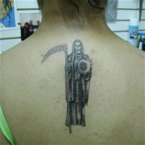 im 225 genes de la santa muerte en tatuajes im 225 genes de la