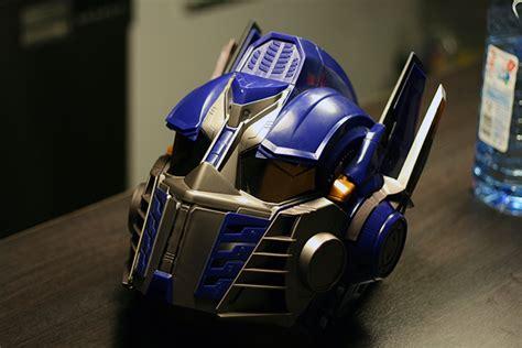 Motorradhelm Panda by Transformers Optimus Prime Helm