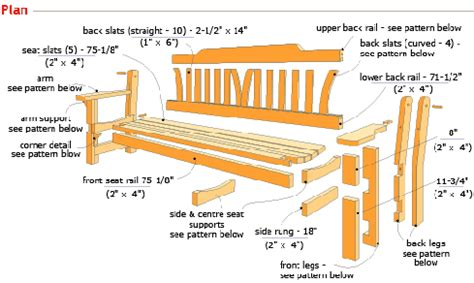 wooden park bench plans 4 great woodworking bench plans for woodworkers