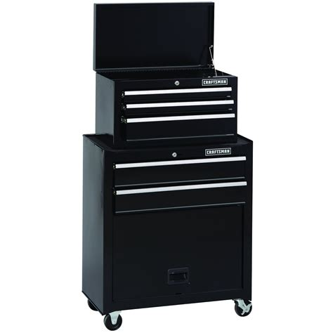 craftsman 5 drawer tool chest and cabinet craftsman 5 drawer standard duty ball bearing tool center
