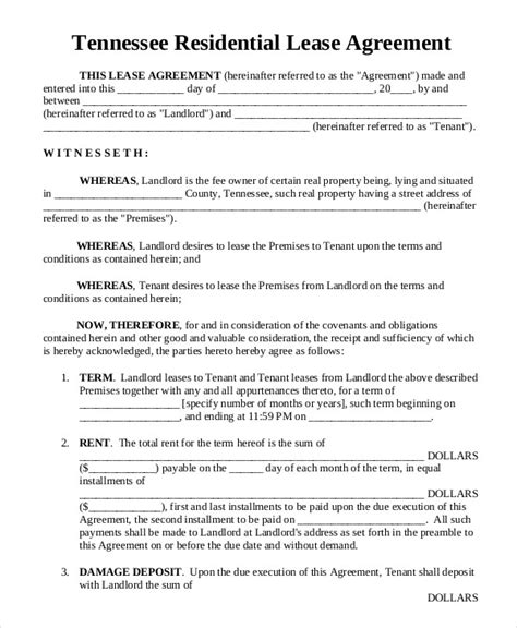 printable one year lease agreement residential lease basic rental agreement or residential