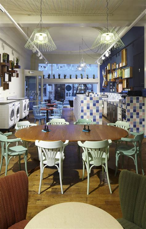 Laundry Mat Bar by Wasbar Laundromat Bar Hair Salon By Pinkeye Ghent