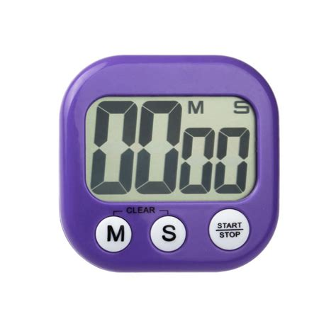 Alarm Kitchen Digital Besar new magnetic kitchen digital lcd count up counter timer alarm clock stylish ebay