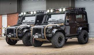 land rover defender spectre edition by tweaked automotive