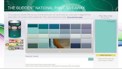 whimsical creations free glidden paint
