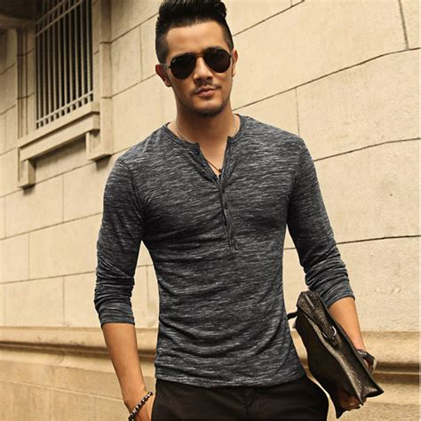 Stylish T Shirt For The Apathetic by New Henley Shirt 2016 New Tops Sleeve Stylish