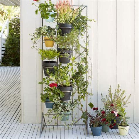patio wall planters deco screen grey wall planter