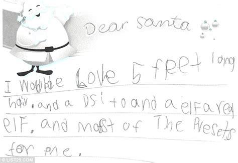 dear santa if you bring presents bring batteries children s funniest christmas wish lists