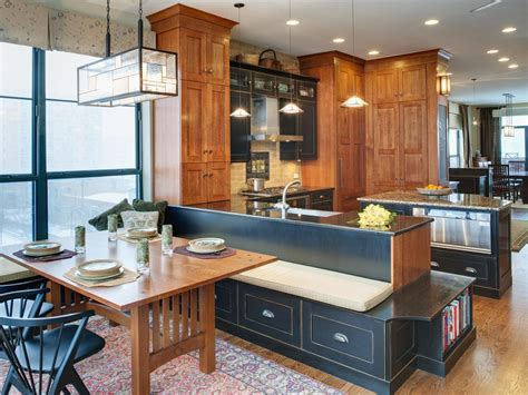 kitchen table banquette kitchen table design decorating ideas hgtv pictures hgtv