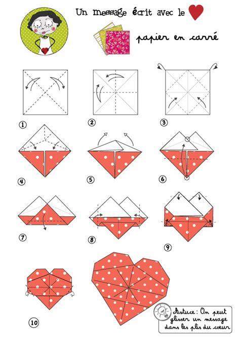 Origami Fr - coeur origami activit 233 s z