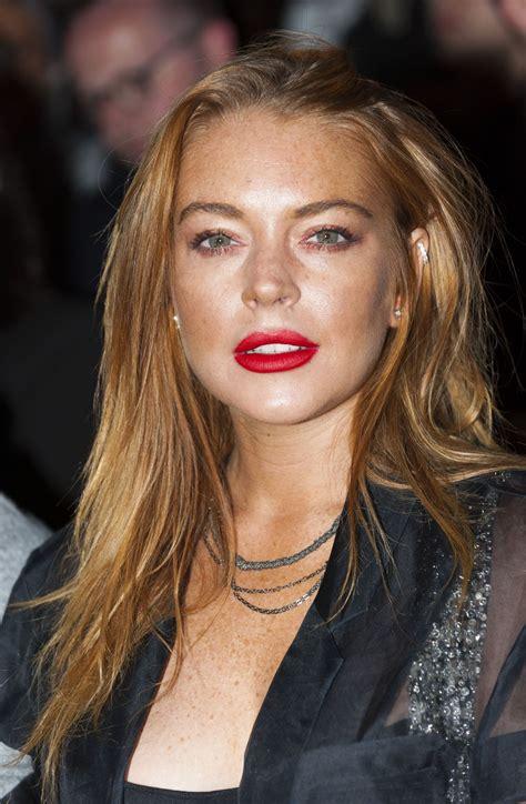 Lindsay Lohan lindsay lohan at gareth pugh show celebzz