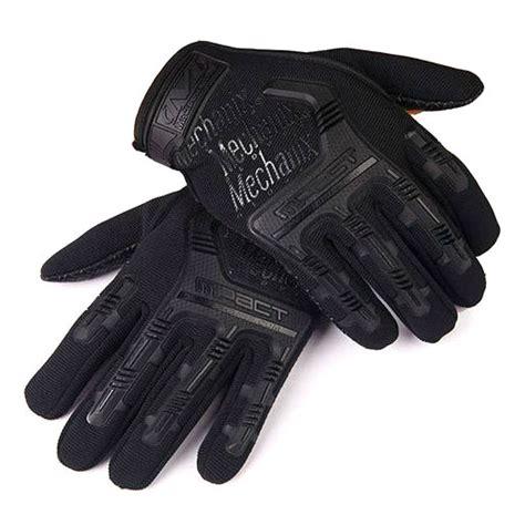 sarung tangan motor tactical mechanix road black jakartanotebook