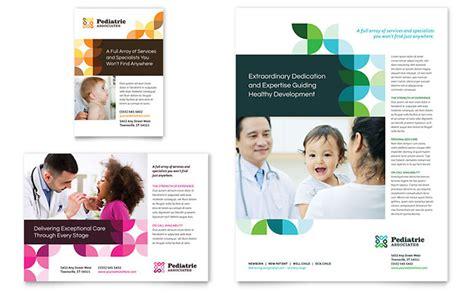 Pediatric Doctor Flyer Ad Template Design Pediatrician Website Template