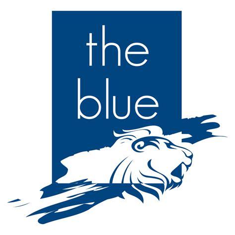 s logo blue blue logo