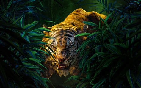 the best jungle shere khan the jungle book wallpapers hd wallpapers