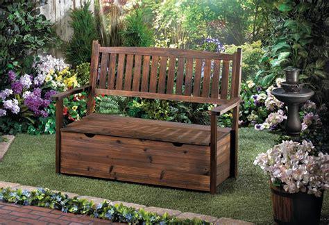 wooden garden storage bench garden grove wooden storage bench patio garden ebay