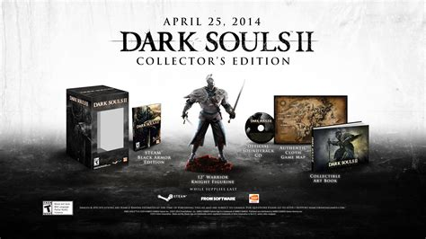 Souls 1 2 Limited Edtion Artbook souls ii collector s edition announced for pc now available for pre order