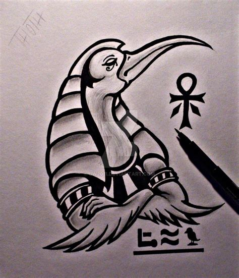 thoth tattoo thoth design by jw2011 on deviantart