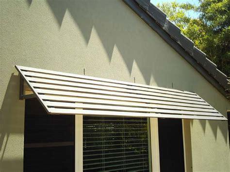 slatted window awnings awnings colorbond 174 steel aluminium woodgrain superior screens