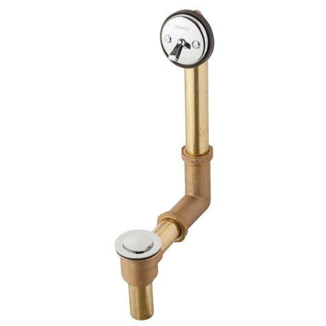 gerber bathtub drain gerber pop up bath drain in shoe american plumbing