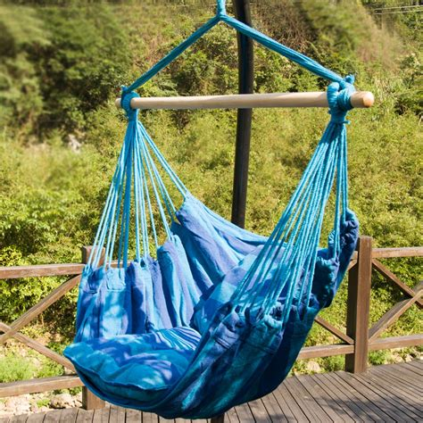 outdoor boat chairs outdoor hammock hanging chair rope portable hiking cing