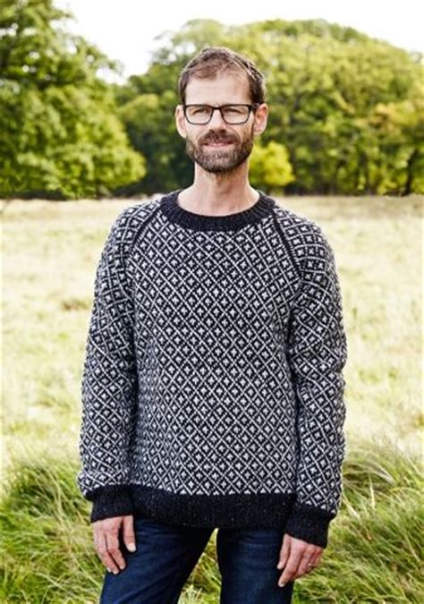 sweatere strik c 1 9 14 faroese sweater for him pernille cordes knit and