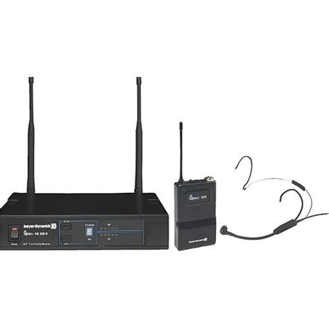 Mic Wireless Beyermic Uhf X800 beyerdynamic opus 654 wireless neckworn microphone system 700665