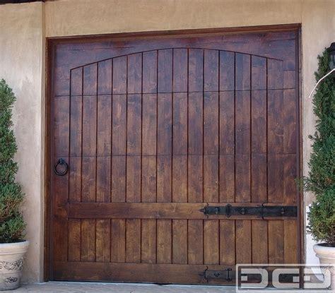 rustic alder garage door garage doors