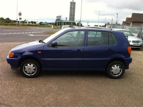 volkswagen hatchback 1999 used volkswagen polo 1999 petrol 1 4 cl 5dr hatchback blue