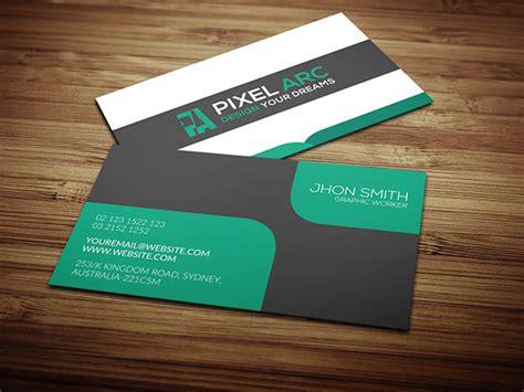 business card psd template behance professional business card free psd on behance
