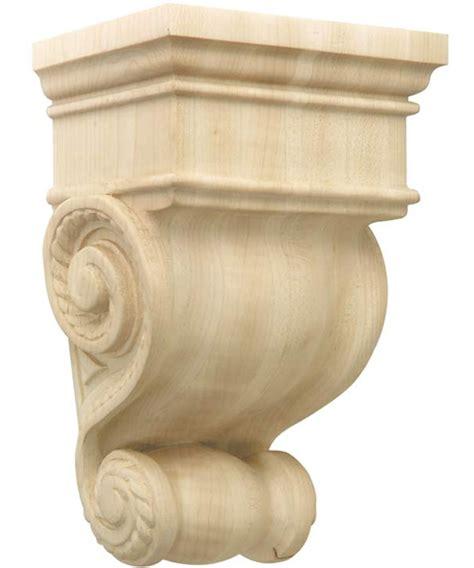 Carved Wood Corbels Carved Wood Corbel Americana In Shelf Brackets