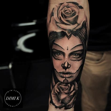 woman face tattoo sleeve tattoos sleeve