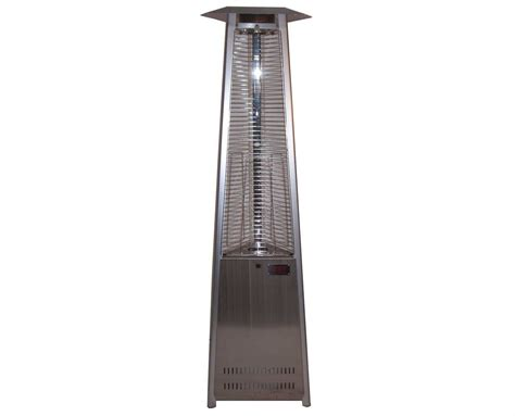 Dayva Tower Of Fire Stainless Steel Propane Heater Tower Of Patio Heater