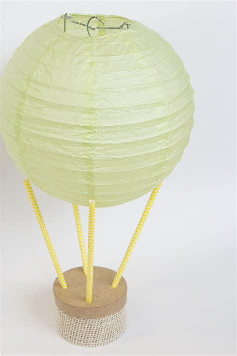 How To Make Paper Air Balloon Lantern - diy paper lantern air balloon linentablecloth