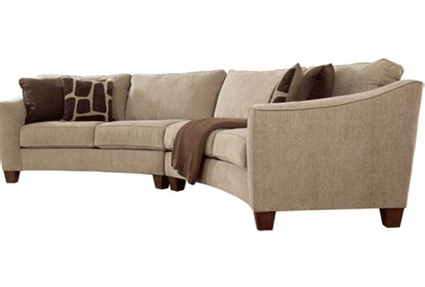 Curved Sofas For Small Spaces Curved Sofas For Small Spaces Curved Sectional Sofas For Small Spaces With Pink Ottoman